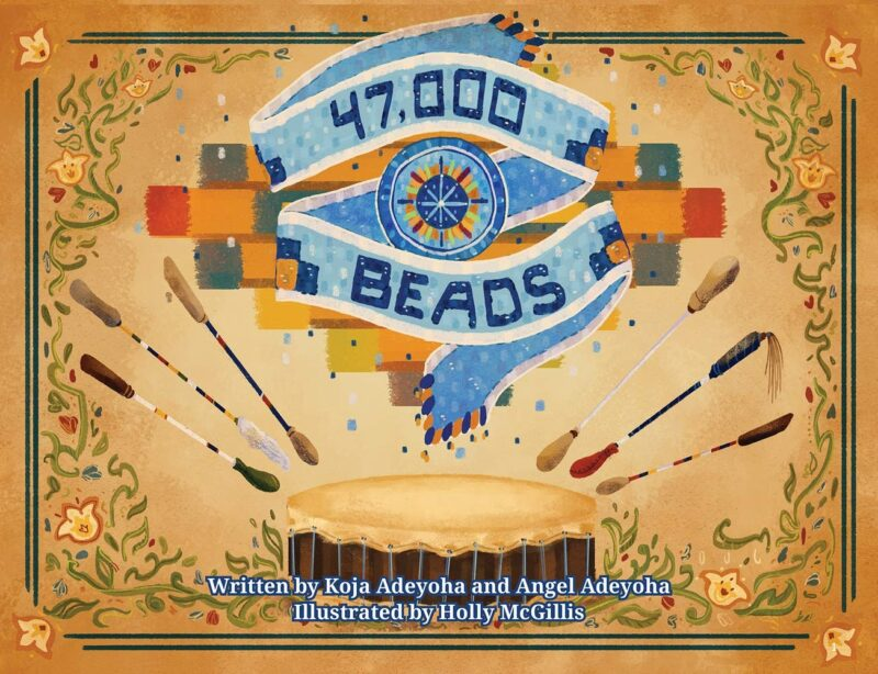 Cover to the book 47,000 beads